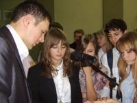 Встреча с начальником управления по делам молодежи