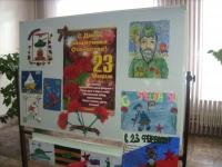 Выставка в честь праздника