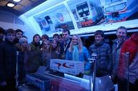 Посещение поезда будущего