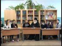 Встреча с духовным наставником школы протоиереем Алексием Бабаниным