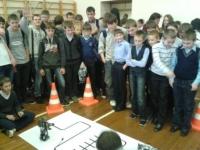 Демонстрация роботов Lego NXT Mindstorm