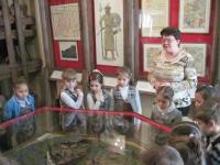 Первая экскурсия в краеведческий музей