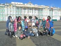 Поездка в город Санкт-Петербург
