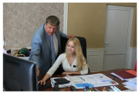 Курчевская Виктория - победитель XIV муниципального конкурса «Юный мэр-2013»