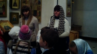 В храме преподобного Сергия Радонежского