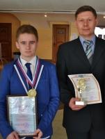 Призер заключительного  этапа  всероссийской олимпиады школьников по химии 2014 года