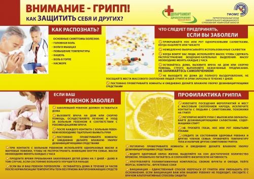 Внимание - грипп! Как защитить себя и своих близких