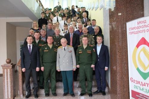 Встреча с представителями 2-й гвардейской Таманской мотострелковой дивизии
