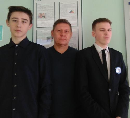Победители регионального этапа Всероссийской олимпиады школьников по химии!