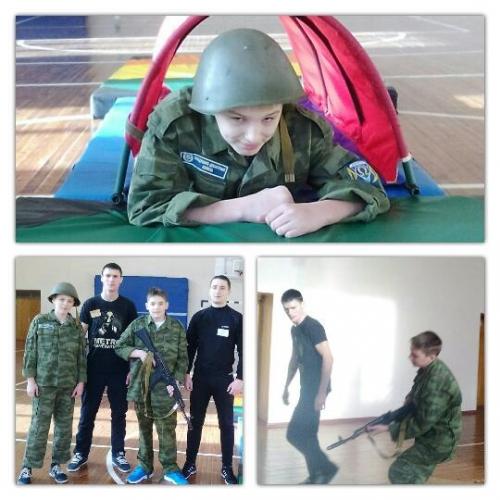 Военно–спортивные соревнования «Марш – бросок»
