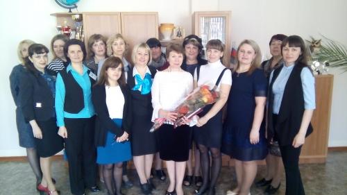 Поздравляем Бычинскую Аллу Александровну, учителя начальных классов, с юбилеем!