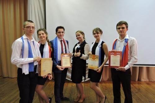 Награждение участников муниципального социально ориентированного проекта «Наше время»