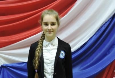 Победитель муниципального этапа  всероссийской олимпиады школьников  по немецкому языку