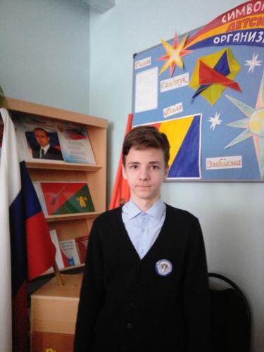 Призёр муниципального этапа  всероссийской олимпиады школьников по английскому языку