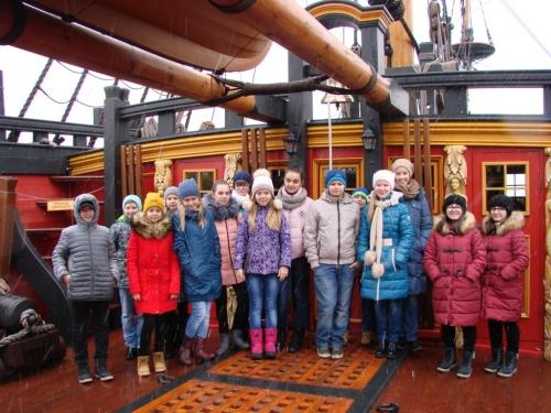 Группа шестиклассников побывала в городе Воронеже