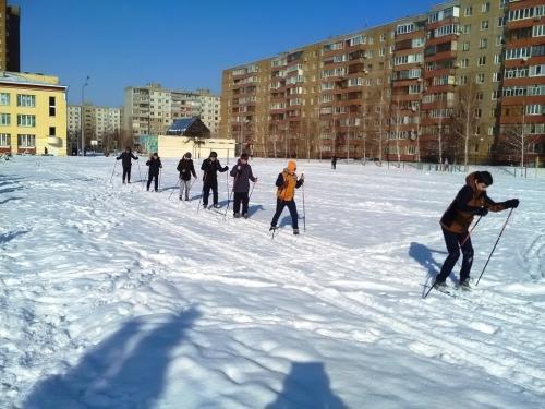 Бег на лыжах на 3 км