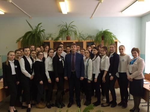 Встреча с прокурором Старооскольского городского округа Демидовым Юрием Анатольевичем
