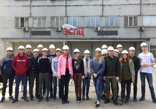 Экскурсия на Оскольский электрометаллургический комбинат