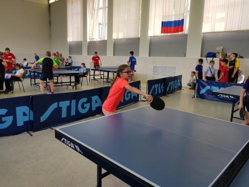 Школьная любительская лига по настольному теннису