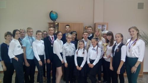 Победители XXVIII спартакиады молодежи Старооскольского городского округа
