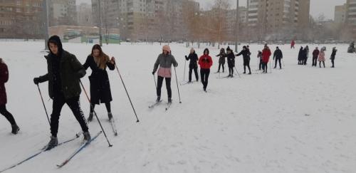 ВФСК «ГТО». На лыжне