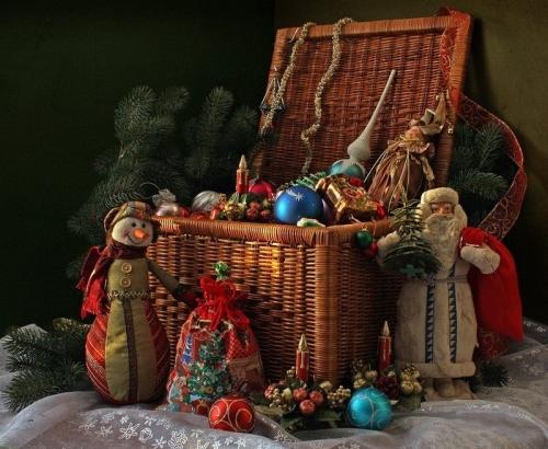 Муниципальный конкурс «Ларец новогодних чудес»