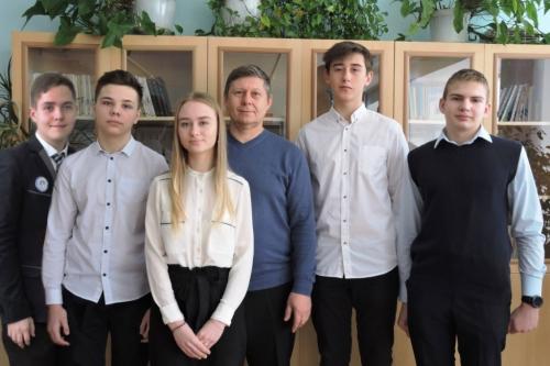 Победители регионального этапа всероссийской олимпиады школьников по химии