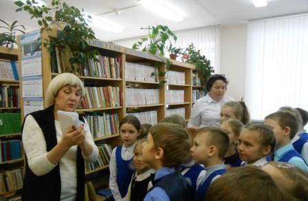 Первоклассники становятся читателями библиотеки