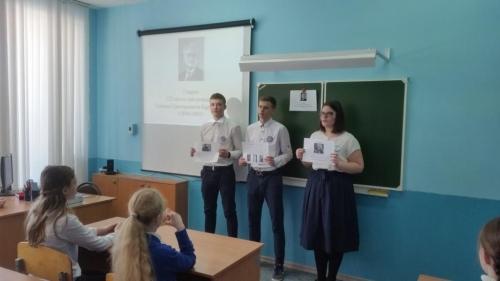 Акция, посвященная 125-летию со дня рождения Степана Григорьевича Бархударова