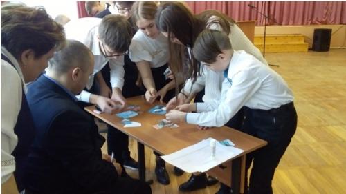 Интерактивная игра-конкурс «Дорогами тысячелетий»