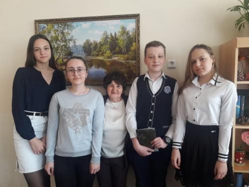 Традиционная встреча учеников школы №40 с Амуновой Н.И.