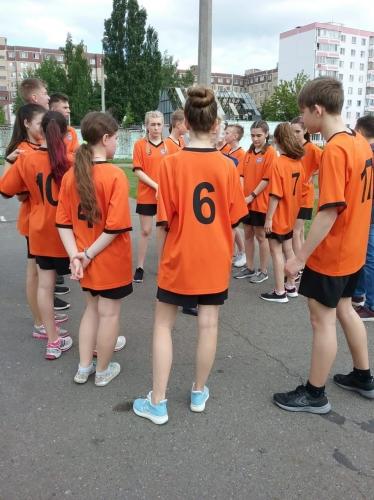Муниципальный этап Всероссийских спортивных соревнований школьников «Президентские состязания»