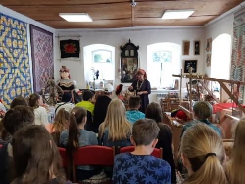 Экскурсия в Старооскольском Доме ремёсел