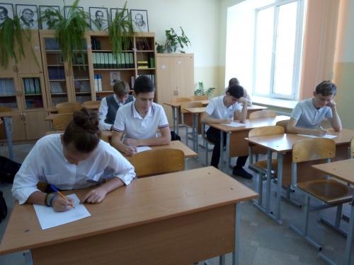 Школьный этап Всероссийской олимпиады школьников по русскому языку