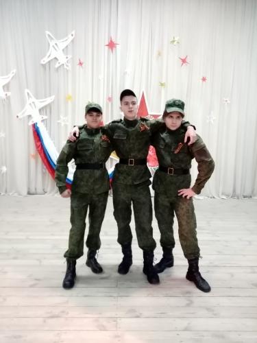 Победа в 3 этапе «Когда поют солдаты» военно-патриотического конкурса «Аты-баты. Юность. Отвага. Честь»
