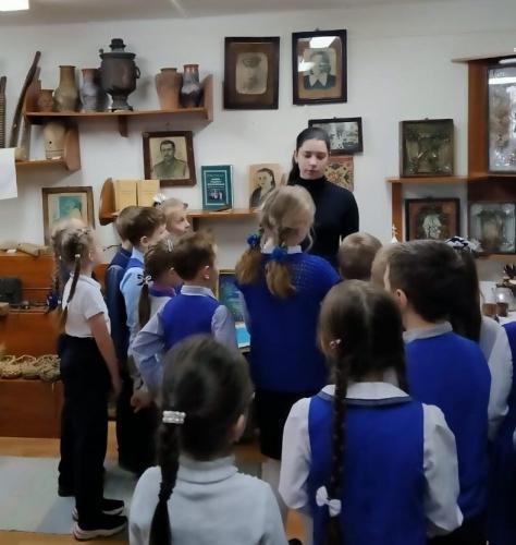 Неделя «Музей и дети» в МАОУ «СОШ № 40»