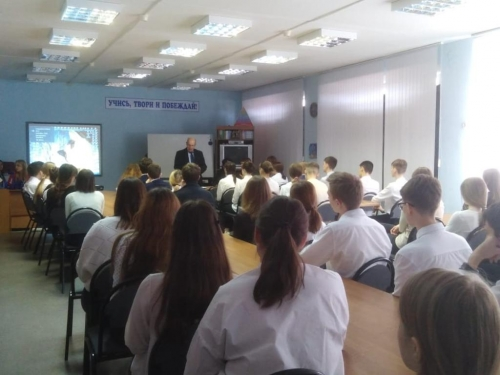 Встреча с представителями Воронежского государственного медицинского университета имени М.М. Бурденко