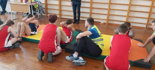 Региональный этап Всероссийских спортивных соревнований «Президентские состязания»