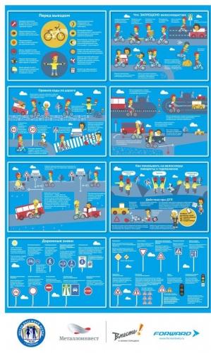 Правила безопасности при использовании велосипеда