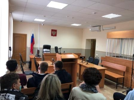 Посетили Старооскольский районный суд