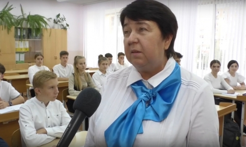 Видеосюжет о  Старооскольской  педагогической династии
