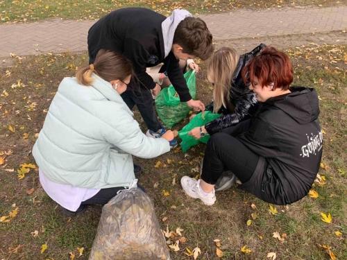 Экологический субботник «Зеленая Планета»