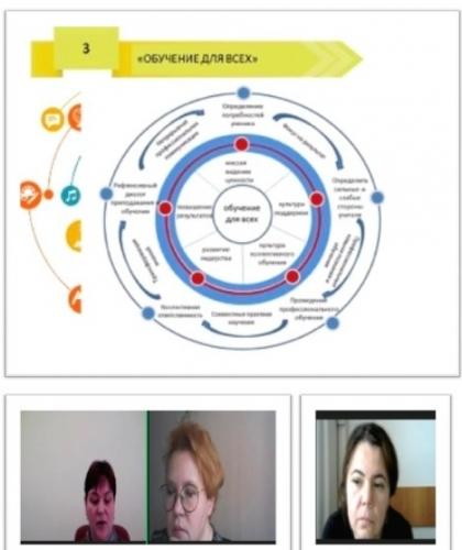 Региональный вебинар «Школа наставничества: работа с молодыми педагогами»